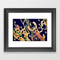 The Missing One's Club Framed Art Print