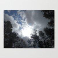 Blue Sky Canvas Print