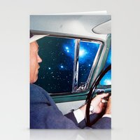 night driving Stationery Cards