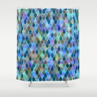 Shower Curtain featuring Mermaid by Schatzi Brown