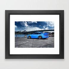 Porsche 993 Framed Art Print