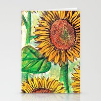 Keep Up Buttercup Stationery Cards