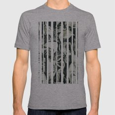 Flamingos Mens Fitted Tee Athletic Grey SMALL