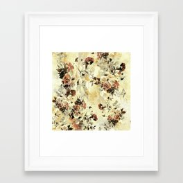 Framed Art Print - RPE FLORAL IV - RIZA PEKER