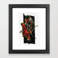 Olé! | Collage Framed Art Print