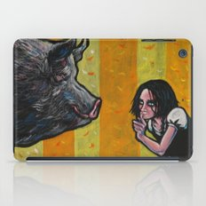 Shh, piggy! iPad Case