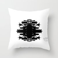 A Template For Your Imag… Throw Pillow