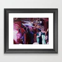 The Wedding Dancers Framed Art Print