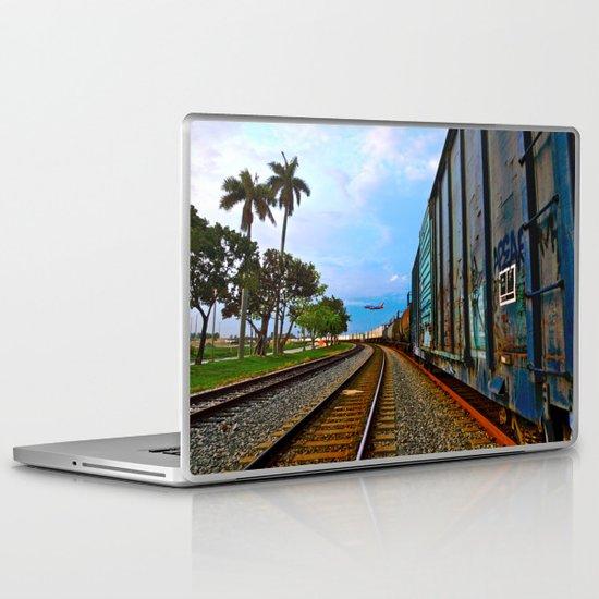 Planes, Trains, but no Automoblies Laptop & iPad Skin