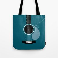 you can't play our broken strings - ANALOG zine Tote Bag
