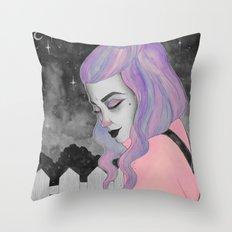 Melancolia Throw Pillow
