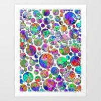 Pattern - Polka Dots/7 Art Print