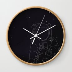 Spaceman Wall Clock