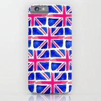 Watercolour Union Jack  iPhone 6 Slim Case