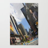 New York City Life Canvas Print