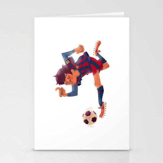 Lionel Messi, Barcelona Jersey Stationery Card