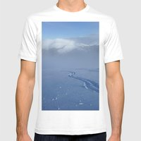 Quandary Peak Mens Fitted Tee White SMALL