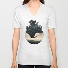 The Selfie Dark Surrealism Unisex V-Neck