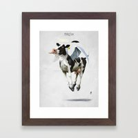 Holy Cow Framed Art Print