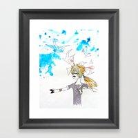Summer Breeze Framed Art Print