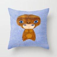 A Boy - E.T. The Extra-t… Throw Pillow