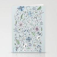 Globos en el jardín Watercolor Stationery Cards