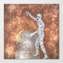 Blurred Zombie Canvas Print