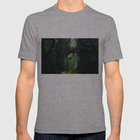 Dark Forest (VACANCY Zin… Mens Fitted Tee Athletic Grey SMALL