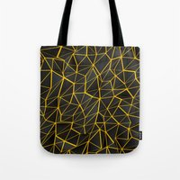 Yellow Wire Tote Bag