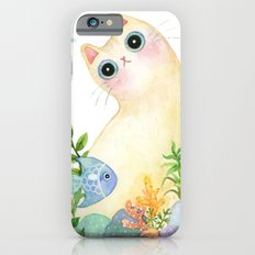 The Aquarium Cat iPhone 6 Slim Case