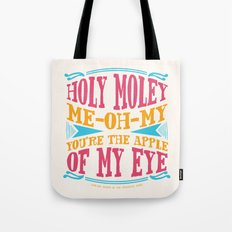 Home - You're The Apple of My Eye Tote Bag