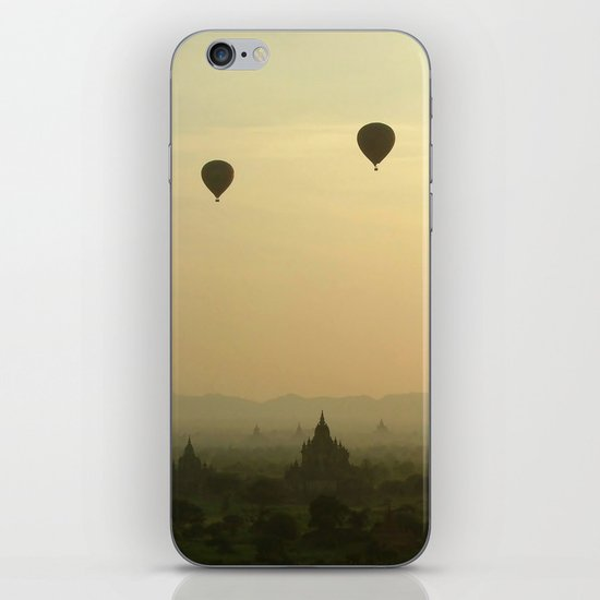 Above the Temples iPhone & iPod Skin