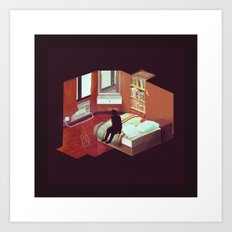 Rooms Art Print