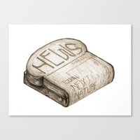 Info Toaster Canvas Print