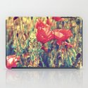 Morning Light - Poppy Field iPad Case