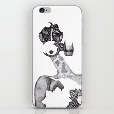 Anabelle (B&W) iPhone & iPod Skin