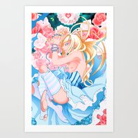 Alice in Boyland-Alice Art Print