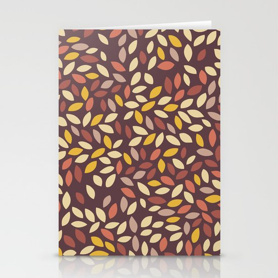 Autumn Whispers Stationery Card
