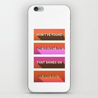 Sunset 80's iPhone & iPod Skin