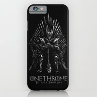 iPhone & iPod Case featuring One Throne to Rule Them All by Alan Bao