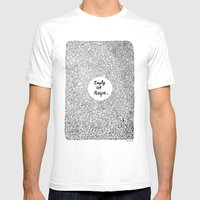 Empty Of Hope Mens Fitted Tee White SMALL