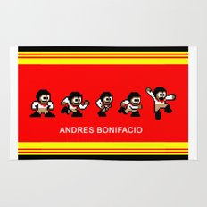 8-bit Andres 5 pose v2 Rug