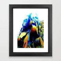 Technicolor Cellos  Framed Art Print