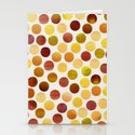 Watercolor Dots_Amber Stationery Cards