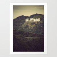 Old Hollywood Art Print
