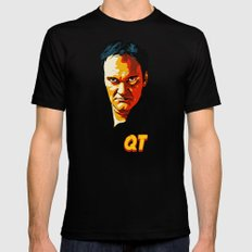 TARANTINO SMALL Black Mens Fitted Tee