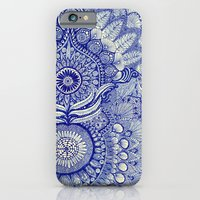 iPhone & iPod Case featuring blue by Yes Menu