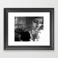 fugue VI Framed Art Print