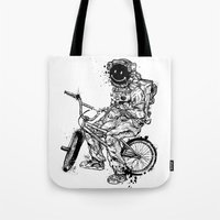 Void In Space (Blk) Tote Bag