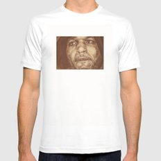 round 4...bernard hopkins White SMALL Mens Fitted Tee